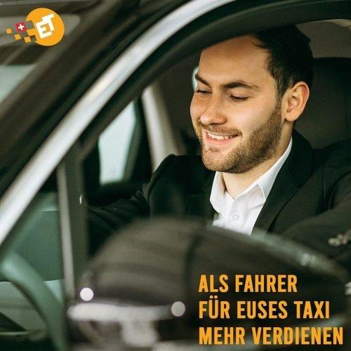 Fahrer von Taxi App Duba in Zürich